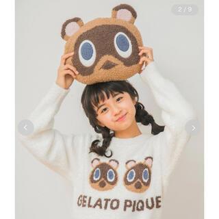 ジェラートピケ(gelato pique)の【GW限定大幅値下げ】gelato piche つぶまめクッション(クッション)