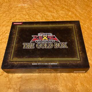ユウギオウ(遊戯王)の遊戯王 ゼアル THE GOLD BOX 未開封 テープあり(Box/デッキ/パック)