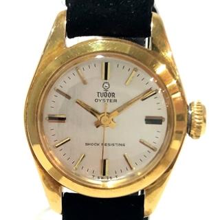 チュードル7805 SHOCK RESISTING オイスター レディース腕時計