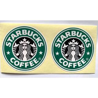 スターバックスコーヒー(Starbucks Coffee)のスターバックス ステッカー ラベル シール 2枚(ノベルティグッズ)
