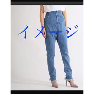 マメ(mame)の【お直しあり】mameマメHigh-Waist Jeans 15AW(デニム/ジーンズ)