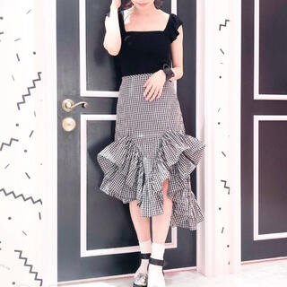 リルリリー(lilLilly)のリルリリー スカート(ひざ丈スカート)