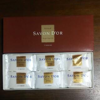 シセイドウ(SHISEIDO (資生堂))の固形石鹸 エフティ資生堂 サボンドールソープ 6個(ボディソープ/石鹸)