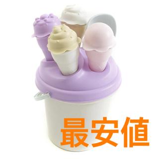 スリーコインズ(3COINS)のスリーコインズ アイスクリーム 砂場セット 砂遊びセット(知育玩具)