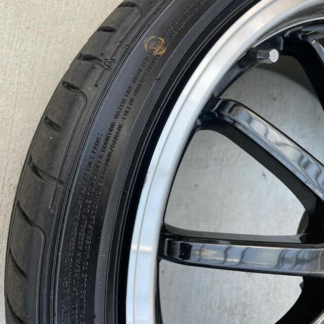 Goodyear(グッドイヤー)の最終値下げです‼︎18インチ タイヤホイールセット 自動車/バイクの自動車(タイヤ・ホイールセット)の商品写真