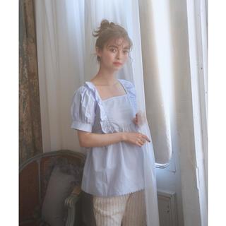 ワンアフターアナザーナイスクラップ(one after another NICE CLAUP)のback ribbon tunic blouse ♡ treat ürself(シャツ/ブラウス(半袖/袖なし))