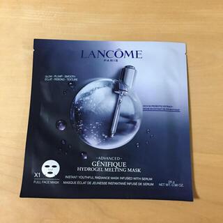 ランコム(LANCOME)のランコム ジェニフィック  アドバンストハイドロジェルメルディングマスク  (パック/フェイスマスク)