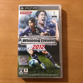 ワールドサッカー ウイニングイレブン 2012 PSP(その他)