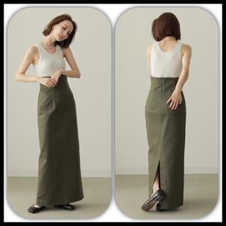 トゥデイフル(TODAYFUL)の完売◆タグ付き louren  highwaist pencil skirt S(ロングスカート)