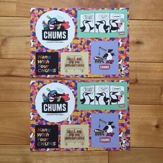 チャムス(CHUMS)のチャムス ステッカー2枚セット(その他)