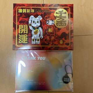アベイシングエイプ(A BATHING APE)のBearbrick NEW YEAR MANEKINEKO & DARUMA (フィギュア)