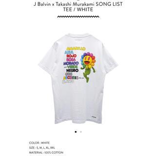 シュプリーム(Supreme)のJ Balvin x Takashi Murakami 村上隆 カイカイキキ(Tシャツ/カットソー(半袖/袖なし))