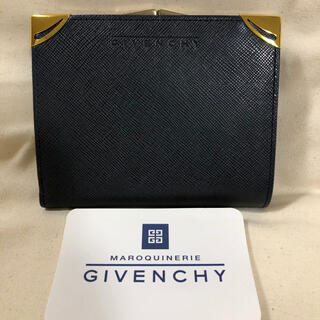 GIVENCHY - ✨新品未使用✨ GIVANCHY * がま口 折財布 ♡正規品♡