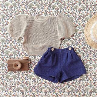 キャラメルベビー&チャイルド(Caramel baby&child )のsoor ploom ニット 4-5y(ニット)