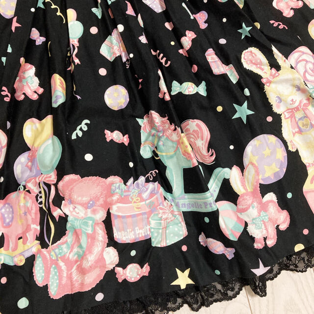 Angelic Pretty(アンジェリックプリティー)のAngelic Pretty Toy Parade op kc セット jsk レディースのワンピース(ひざ丈ワンピース)の商品写真