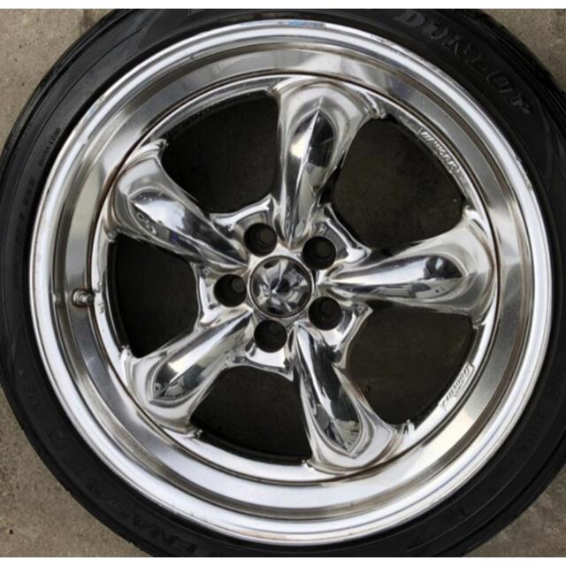 トヨタ(トヨタ)のwork goocars hemi 18インチ 7.5j  自動車/バイクの自動車(タイヤ・ホイールセット)の商品写真