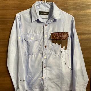アップスタート(UPSTART)のシャツ ライトブルー Mサイズ 長袖(シャツ)