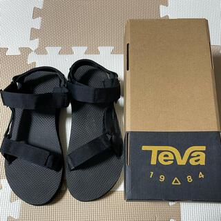 テバ(Teva)のTeva サンダル 黒 メンズ 27センチ 人気 テバ(サンダル)