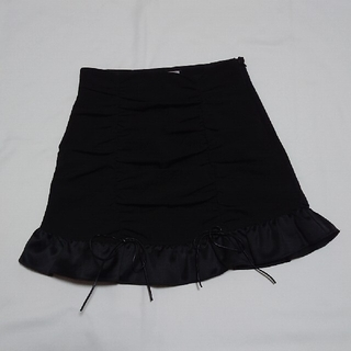 バブルス(Bubbles)のmelt the lady ギャザースカート ブラック M size(ミニスカート)