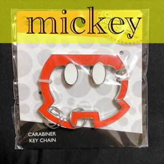 ディズニー(Disney)のカラビナ ミッキー キーチェーン ディズニー キーリング キーホルダー(キーホルダー)