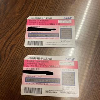 ANA株主優待権(航空券)