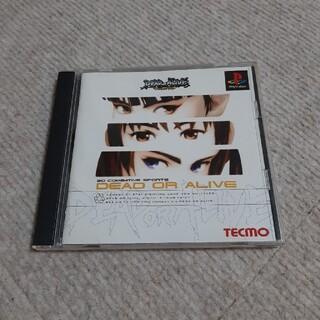 プレイステーション(PlayStation)のPSソフト デッド・オア・アライブ(家庭用ゲームソフト)
