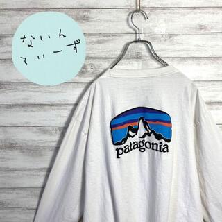 パタゴニア(patagonia)の【入手困難】パタゴニア ワンポイント バックプリント ビックサイズ ロンT(Tシャツ/カットソー(七分/長袖))