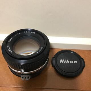 ニコン(Nikon)のnikon Ai 50mm f1.4(レンズ(単焦点))