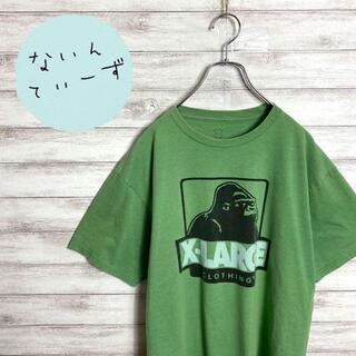 エクストララージ(XLARGE)の【アースカラー】エクストララージ グリーン ゴリラロゴ ビックサイズ Tシャツ(Tシャツ/カットソー(半袖/袖なし))