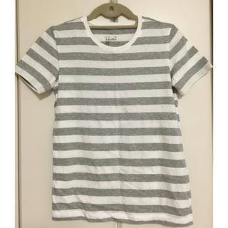 ムジルシリョウヒン(MUJI (無印良品))のMUJI(無印良品)ボーダーTシャツ(Tシャツ(半袖/袖なし))