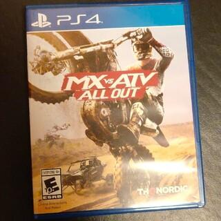 プレイステーション4(PlayStation4)のMX vs ATV 海外版(家庭用ゲームソフト)