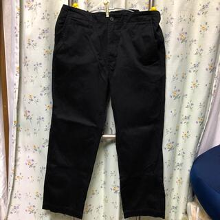 ジーユー(GU)のGU パンツ ブラック 85(ワークパンツ/カーゴパンツ)