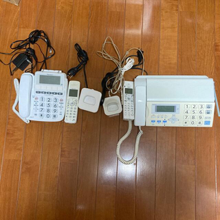 電話機 ファックス付き電話機 2セット サンヨー パイオニア