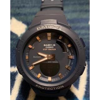 ベビージー(Baby-G)のbaby-g BSA-100 Bluetooth STEP tracker(腕時計)
