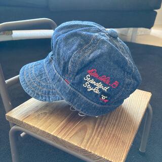 ダブルビー(DOUBLE.B)のダブルB 帽子 キャスケット 46cm(帽子)