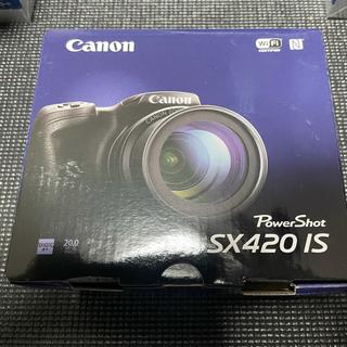 キヤノン(Canon)の【新品】CANON PowerShot SX420 ISデジタルカメラ (コンパクトデジタルカメラ)
