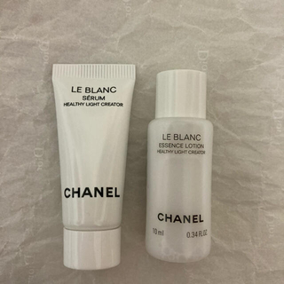 CHANEL - 新製品 シャネル ル ブラン サンプル 2本セット  美容液 & 化粧水