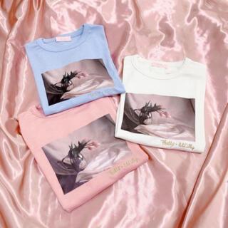 リルリリー(lilLilly)のリルリリー lillily × philly chocolate Tシャツ(Tシャツ(半袖/袖なし))