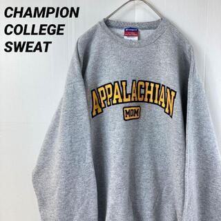 Champion - 古着CHAMPIONチャンピオン カレッジ 切文字刺繍ロゴスウェットスエット M