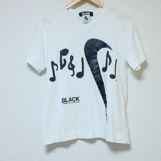 ブラックコムデギャルソン(BLACK COMME des GARCONS)のBLACK COMME des GARCONS × NIKE コラボ Tシャツ(Tシャツ/カットソー(半袖/袖なし))