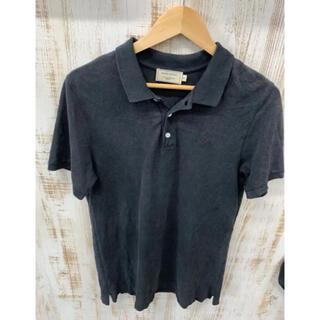 メゾンキツネ(MAISON KITSUNE')のMAISON Kitsuné メゾンキツネ ポロシャツ 半袖 ワンポイント k8(ポロシャツ)