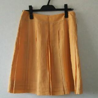 グローブ(grove)の新品未使用 グローブ スカート オレンジ(ひざ丈スカート)