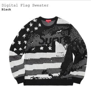 Supreme - 新品未使用Supreme Digital Flag Sweater S
