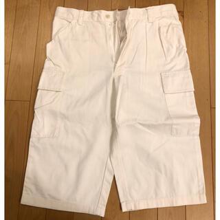 メンズメルローズ(MEN'S MELROSE)のハーフパンツ ショートパンツ カーゴパンツ インド綿100%(ショートパンツ)
