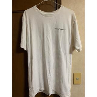 オフホワイト(OFF-WHITE)のOff-White tシャツ  サイズL  オフホワイト シュプリーム(Tシャツ/カットソー(半袖/袖なし))