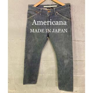 Americana セルビッチデニムパンツ!日本製!赤耳!