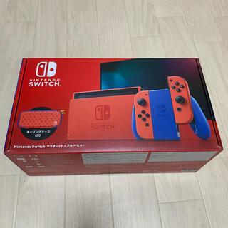 ニンテンドースイッチ(Nintendo Switch)のNintendo Switch スイッチ マリオレッド ブルー 本体 新品未使用(家庭用ゲーム機本体)