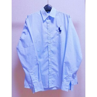 ポロラルフローレン(POLO RALPH LAUREN)のシャツ オーバーサイズ バンド ワンポイント チェック ドレス カジュアル(シャツ)