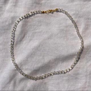ザラ(ZARA)のブレスレット ビーズアクセサリー ネックレス ビーズリング 韓国 母の日(ネックレス)