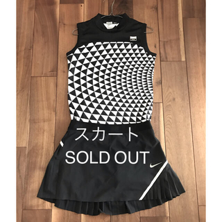ナイキゴルフ★プリーツフレアスカート Mサイズ